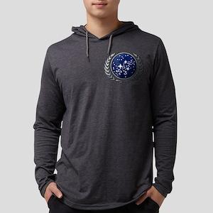 STARTREK UFP STONE Mens Hooded Shirt