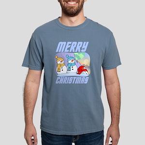 Star Trek Snowmen Mens Comfort Colors Shirt