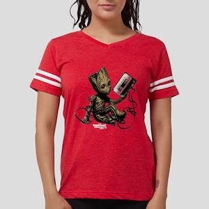 GOTG Groot Cassette Womens Football Shirt