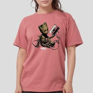 GOTG Groot Cassette Womens Comfort Colors Shirt