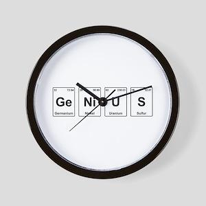 Genius - Periodic Table Wall Clock