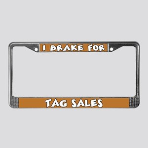 Tag Sales License Plate Frame