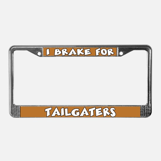 Tailgaters License Plate Frame
