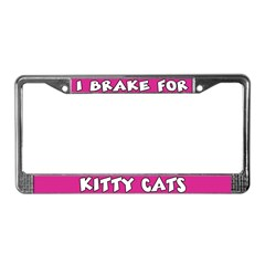 Kitty Cats License Plate Frame
