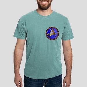 Star Fleet Command Mens Comfort Colors Shirt