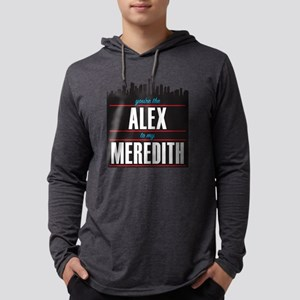 Alex to my Meredith Mens Hooded Shirt