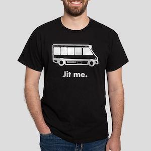 Jit Me (white on black) T-Shirt