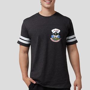 F111_CentralHeating_Wht Mens Football Shirt