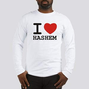 I Heart Hashem Long Sleeve T-Shirt