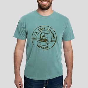 Army Aviation Vietnam Mens Comfort Colors Shirt
