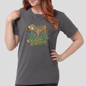 Futurama Walking on Su Womens Comfort Colors Shirt