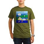 Camp Rain Organic Men's T-Shirt (dark)