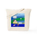 Camp Rain Tote Bag
