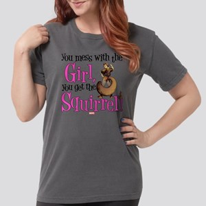 Squirrel Girl Mess wit Womens Comfort Colors Shirt
