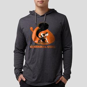 Squirrel Girl Orange Mens Hooded Shirt