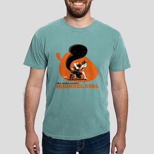 Squirrel Girl Orange Mens Comfort Colors Shirt