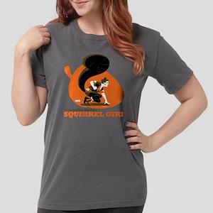 Squirrel Girl Orange Womens Comfort Colors Shirt
