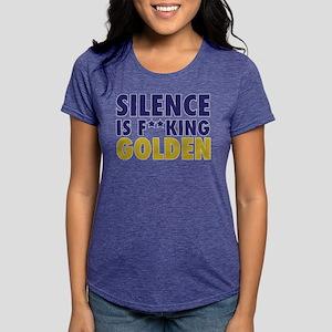 Entourage: Silence Is Gol Womens Tri-blend T-Shirt