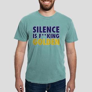 Entourage: Silence Is Go Mens Comfort Colors Shirt