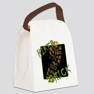 Hiker Chick - Boot Canvas Lunch Bag
