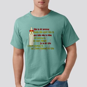 Bottle Creed New Mens Comfort Colors Shirt