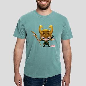 Chibi Loki Mens Comfort Colors Shirt