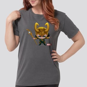 Chibi Loki Womens Comfort Colors Shirt