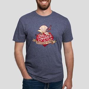 Family Guy Your Heart Belon Mens Tri-blend T-Shirt