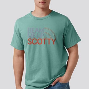 Beam Me Up Scotty Mens Comfort Colors Shirt