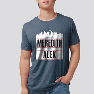 Meredith to my Alex Mens Tri-blend T-Shirt