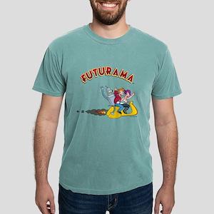 Futurama Hover Scooter L Mens Comfort Colors Shirt
