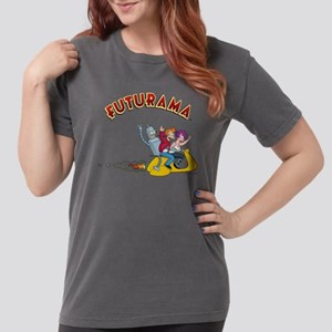 Futurama Hover Scooter Womens Comfort Colors Shirt