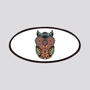 Sugar Skull Owl Color Patches