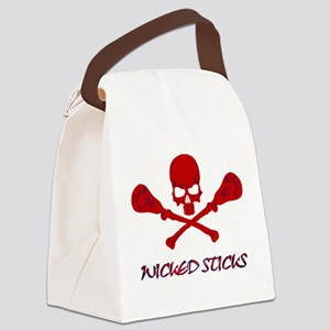 Lacrosse Wicked Sticks Canvas Lunch Bag