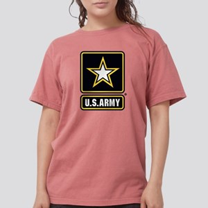 U.S. Army Gold Star Lo Womens Comfort Colors Shirt