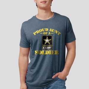 proudarmyaunt2 Mens Tri-blend T-Shirt