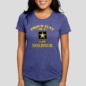 proudarmyaunt2 Womens Tri-blend T-Shirt