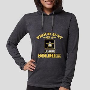 proudarmyaunt2 Womens Hooded Shirt