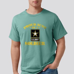 proudarmyaunt2 Mens Comfort Colors Shirt