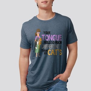 Bob's Burgers Gayle Cat Mens Tri-blend T-Shirt