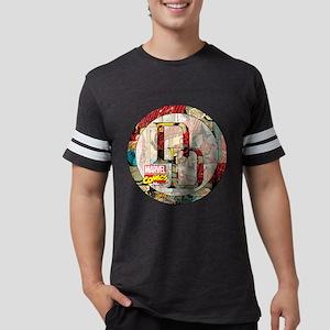 Daredevil Comic Cover Icon Mens Football Shirt