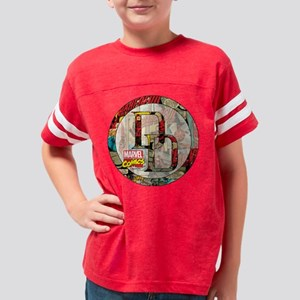 Daredevil Comic Cover Icon Youth Football Shirt