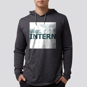 Seattle Grace Hospital Intern Mens Hooded Shirt