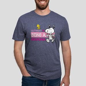HappinessIsGrandma Mens Tri-blend T-Shirt