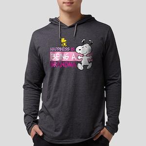 HappinessIsGrandma Mens Hooded Shirt