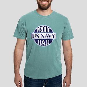Proud US Navy Dad Mens Comfort Colors Shirt