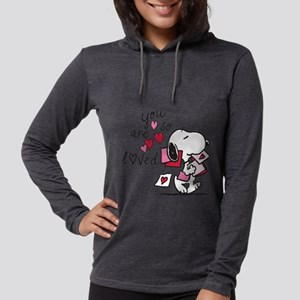 Snoopy - You Are So Loved Womens Hooded Shirt