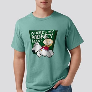 Family Guy My Money Ligh Mens Comfort Colors Shirt