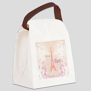 J'adore Paris Canvas Lunch Bag