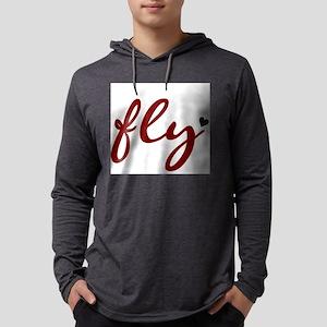 fly Mens Hooded Shirt